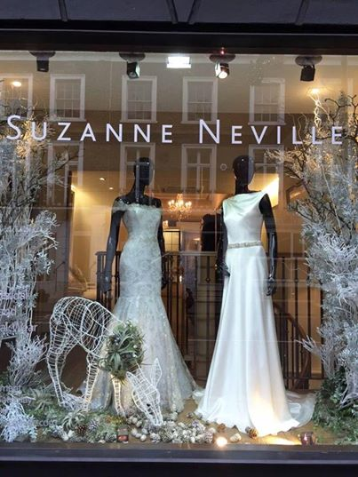 Bloomingayles Suzanne Neville window Christmas 2014