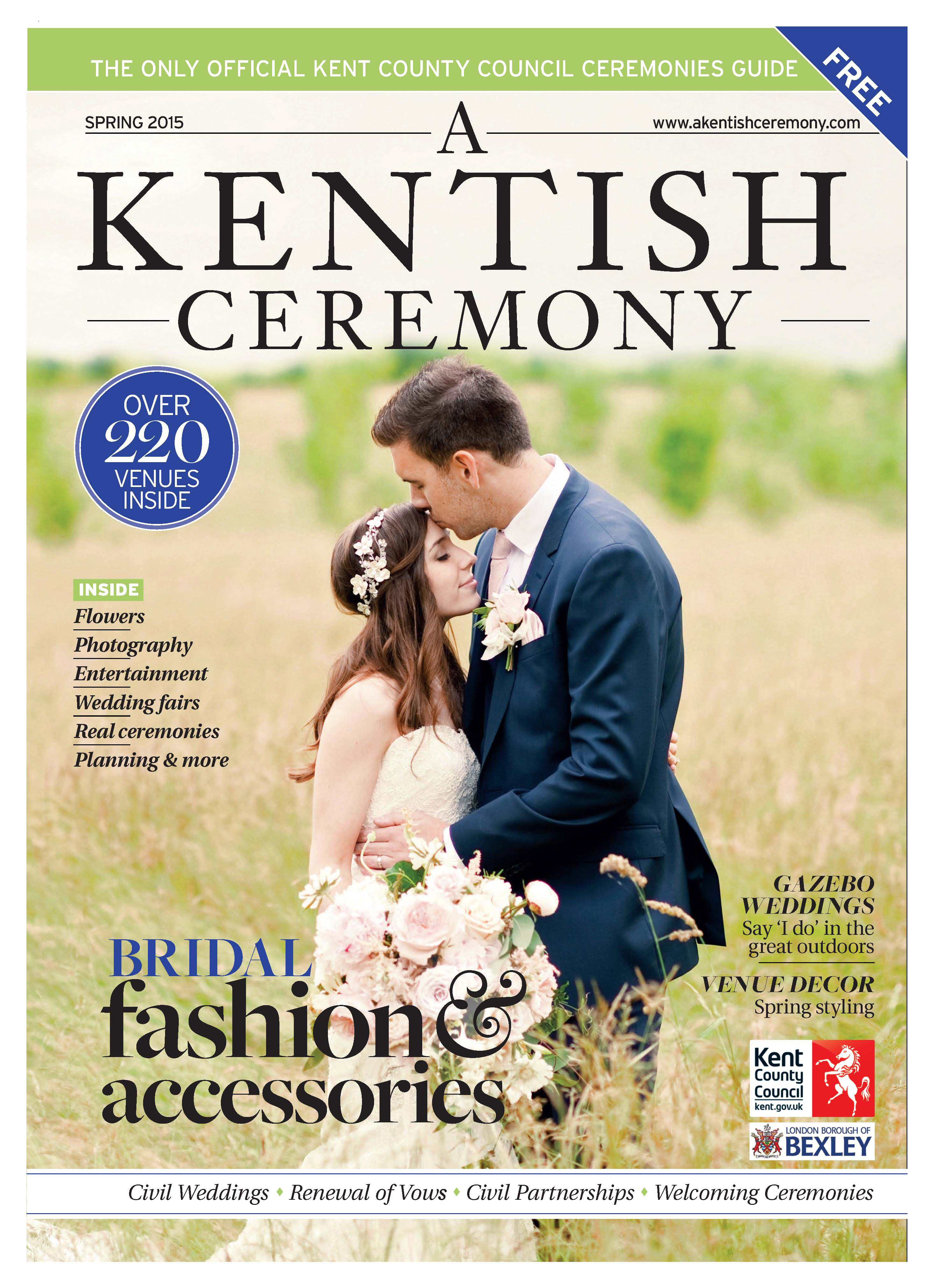 Bloomingayles feature A Kentish Ceremony Cover